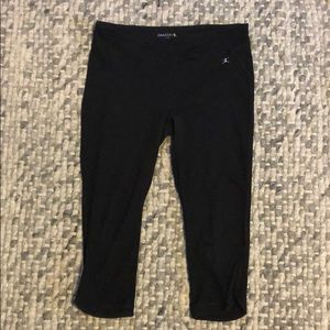 Danskin Cropped Black Leggings